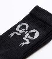 Soulland: Ribbon Sock (Black)