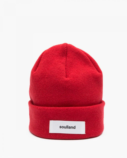 Soulland: Villy Beanie (Red) Soulland - Nowhere