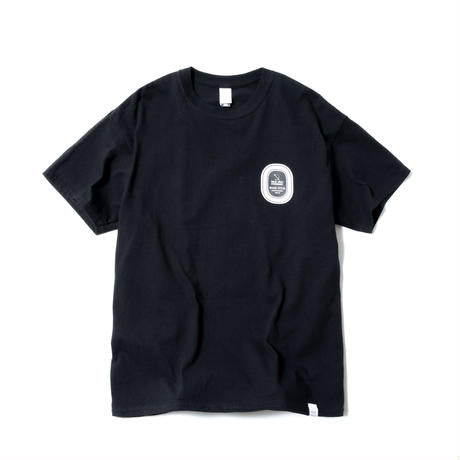 Magic Stick: Sticker Logo Tee (Black) Magic Stick - Nowhere