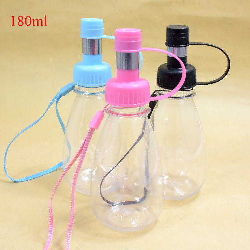 Portable Plastic Dog Drinking Bottle Available in 180ml, 220ml, 300ml, and 480ml - mycosypet
