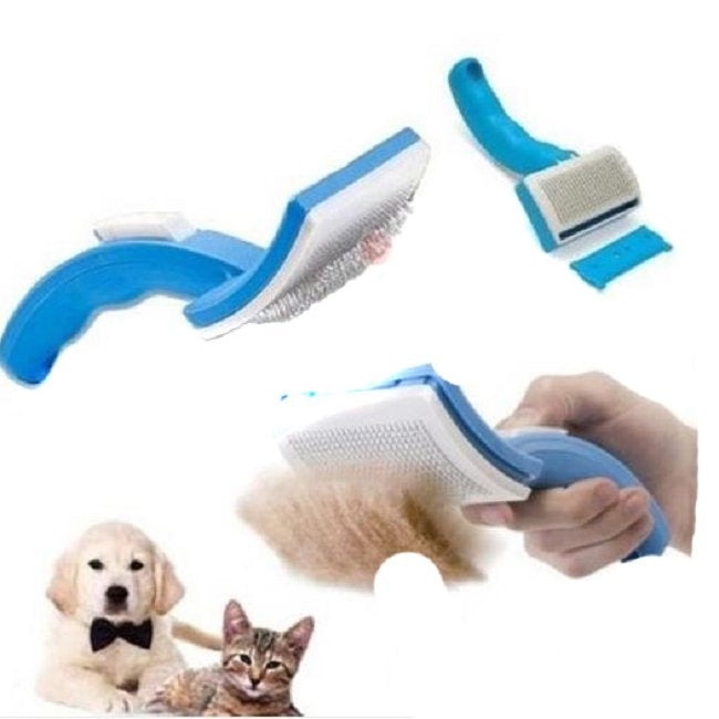 Durable Pet Grooming Brush for Dematting and Detangling - mycosypet