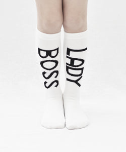 TRESSY - Boss Lady Socks - PREORDER TRESSY - Boss Lady Socks - PREORDER, Accessories, Tressy club, littlebelleandbeau- littlebelleandbeau