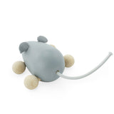 Wooden Push Along Mouse - Dusty Wooden Push Along Mouse - Dusty, Toys, Miva Vacov, littlebelleandbeau- littlebelleandbeau