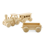 Wooden Passenger Train - Ivan Wooden Passenger Train - Ivan, Toys, Ceeda Cavity, littlebelleandbeau- littlebelleandbeau