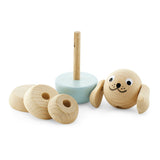 Wooden Stacking Puzzle Dog - Bella Wooden Stacking Puzzle Dog - Bella, Toys, Miva Vacov, littlebelleandbeau- littlebelleandbeau