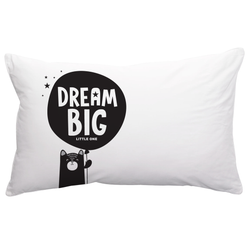BOPOMOFO - Dream Big pillowcase BOPOMOFO - Dream Big pillowcase, kids interior, Bopomofoshop, littlebelleandbeau- littlebelleandbeau