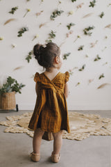 Jamie Kay - Lace Dress - Golden Jamie Kay - Lace Dress - Golden, apparel, Jamie Kay, littlebelleandbeau- littlebelleandbeau