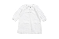 NOBONU - BONTON DRESS WHITE NOBONU - BONTON DRESS WHITE, apparel, Nobonu, littlebelleandbeau- littlebelleandbeau