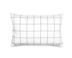 OLLI + LIME - GRID PILLOW OLLI + LIME - GRID PILLOW, bedding, Olli and lime, littlebelleandbeau- littlebelleandbeau