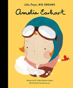 Little People, Big Dreams: Amelia Earhart Little People, Big Dreams: Amelia Earhart, books, Frances Lincoln, littlebelleandbeau- littlebelleandbeau