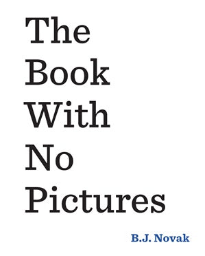 Book With No Pictures PB Book With No Pictures PB, books, PUFFIN, littlebelleandbeau- littlebelleandbeau