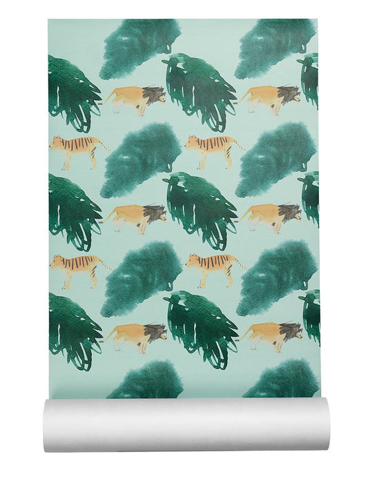 NOFRED WALLPAPER SAFARI NOFRED WALLPAPER SAFARI, kids interior, nofred, littlebelleandbeau- littlebelleandbeau