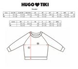 HUGO LOVES TIKI - Jelly Fish Sweatshirt HUGO LOVES TIKI - Jelly Fish Sweatshirt, apparel, Hugo loves tiki, littlebelleandbeau- littlebelleandbeau