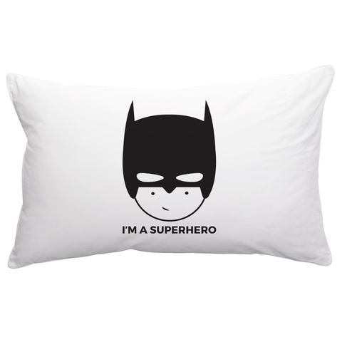 BOPOMOFO - Superhero Pillowcase BOPOMOFO - Superhero Pillowcase, bedding, Bopomofoshop, littlebelleandbeau- littlebelleandbeau