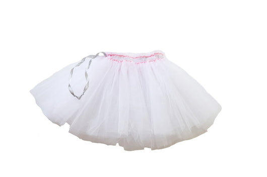 FIG & HONEY -WHITE TULLE SKIRT FIG & HONEY -WHITE TULLE SKIRT, apparel, Fig and honey, littlebelleandbeau- littlebelleandbeau