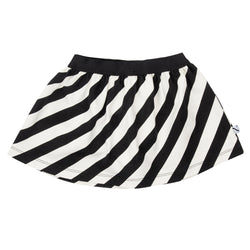 CarlijnQ - ELECTRIC ZEBRA Skirt CarlijnQ - ELECTRIC ZEBRA Skirt, apparel, CarlijnQ, littlebelleandbeau- littlebelleandbeau