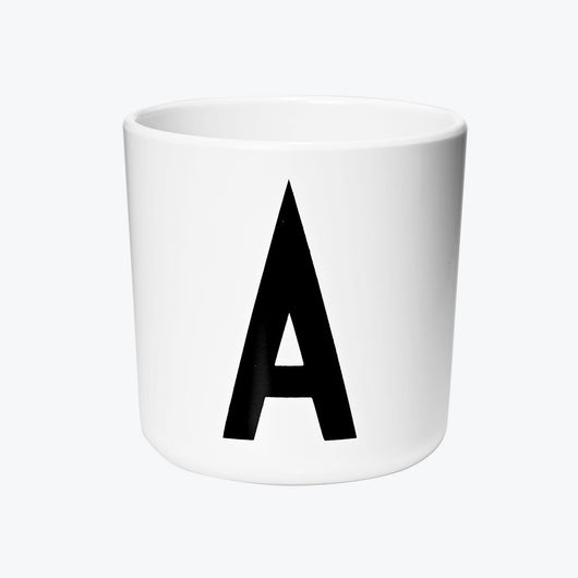 DESIGN LETTERS - PERSONAL MELAMINE CUP A-Z DESIGN LETTERS - PERSONAL MELAMINE CUP A-Z, cups, design letters, littlebelleandbeau- littlebelleandbeau