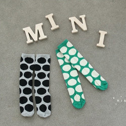 MINI DRESSING Big dot - Green MINI DRESSING Big dot - Green, Accessories, Mini dressing, littlebelleandbeau- littlebelleandbeau