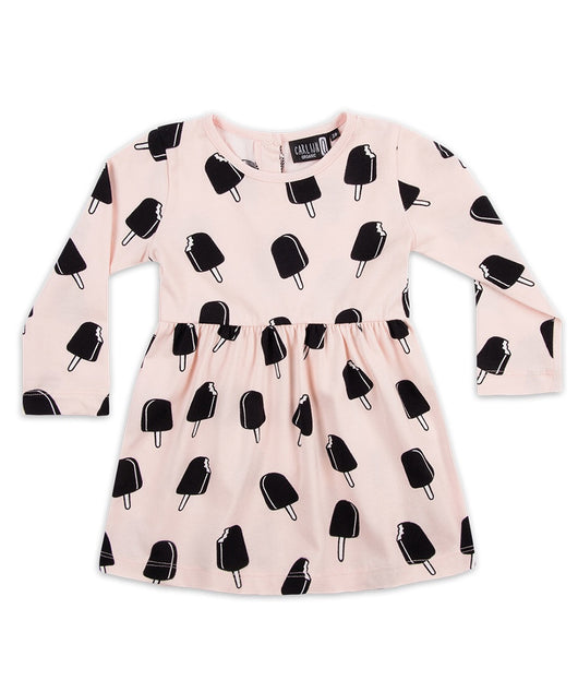 CarlijnQ - Ice cream dress - pink CarlijnQ - Ice cream dress - pink, apparel, CarlijnQ, littlebelleandbeau- littlebelleandbeau