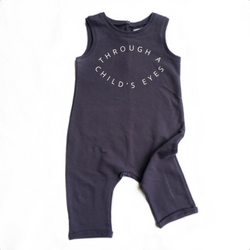 JAX & HEDLEY - CHILD'S EYES ONESIE JAX & HEDLEY - CHILD'S EYES ONESIE, apparel, JAX & HEDLEY, littlebelleandbeau- littlebelleandbeau