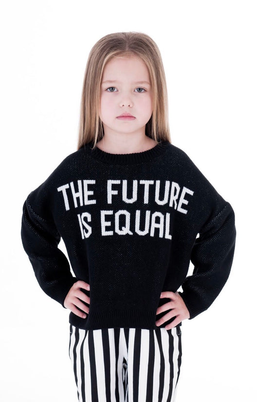 TRESSY CLUB - The Future is Equal Knit - PREORDER Late Feb TRESSY CLUB - The Future is Equal Knit - PREORDER Late Feb, apparel, Tressy club, littlebelleandbeau- littlebelleandbeau