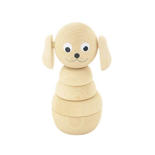 Wooden Stacking Puzzle Dog - Blair Wooden Stacking Puzzle Dog - Blair, Toys, Miva Vacov, littlebelleandbeau- littlebelleandbeau