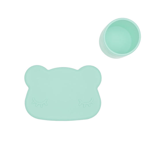 Bear snackie - Minty green Bear snackie - Minty green, kids tableware, We Might Be Tiny, littlebelleandbeau- littlebelleandbeau