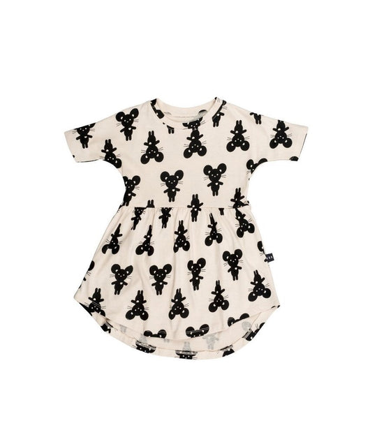 Huxbaby - Mouse swril dress Huxbaby - Mouse swril dress, apparel, huxbaby, littlebelleandbeau- littlebelleandbeau