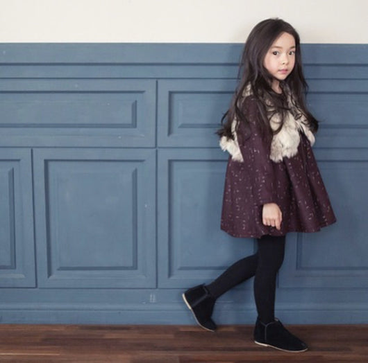 The Jany Burgundy Dress The Jany Burgundy Dress, dress, THE JANY, littlebelleandbeau- littlebelleandbeau
