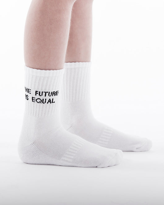 TRESSY CLUB - The Future is Equal Socks - PREORDER Late Feb TRESSY CLUB - The Future is Equal Socks - PREORDER Late Feb, apparel, Tressy club, littlebelleandbeau- littlebelleandbeau