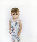 HUGO LOVES TIKI - Jelly Fish Tank Top HUGO LOVES TIKI - Jelly Fish Tank Top, apparel, Hugo loves tiki, littlebelleandbeau- littlebelleandbeau