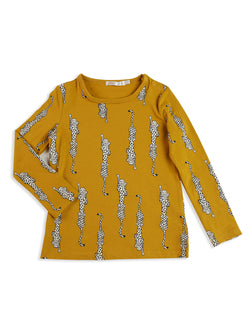 Mad About Mini - Leopard L/S Tee Mad About Mini - Leopard L/S Tee, apparel, mad about mini, littlebelleandbeau- littlebelleandbeau
