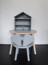 NOFRED MOUSE TABLE – GREY NOFRED MOUSE TABLE – GREY, furniture, nofred, littlebelleandbeau- littlebelleandbeau