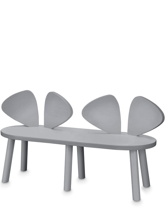 NOFRED MOUSE BENCH CHAIR – GREY NOFRED MOUSE BENCH CHAIR – GREY, furniture, nofred, littlebelleandbeau- littlebelleandbeau