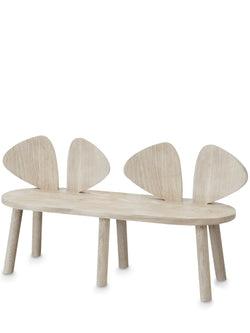 NOFRED MOUSE BENCH CHAIR – OAK - End of November Delivery NOFRED MOUSE BENCH CHAIR – OAK - End of November Delivery, furniture, nofred, littlebelleandbeau- littlebelleandbeau