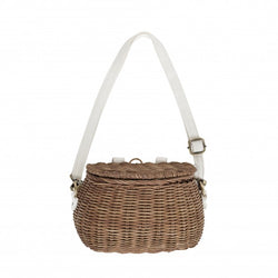 Olli Ella - Minichari Bag - Natural Olli Ella - Minichari Bag - Natural, toy, olli ella, littlebelleandbeau- littlebelleandbeau