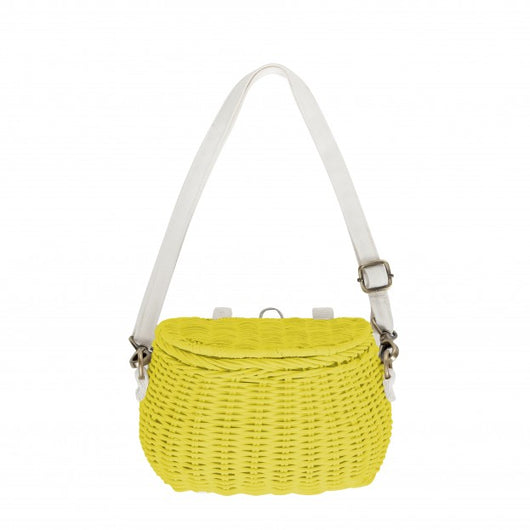 Olli Ella - Minichari Bag - Yellow Olli Ella - Minichari Bag - Yellow, toy, olli ella, littlebelleandbeau- littlebelleandbeau