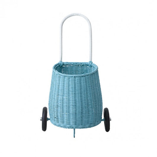 Olli Ella - Luggy Basket - Luggy Basket Blue Olli Ella - Luggy Basket - Luggy Basket Blue, storage, olli ella, littlebelleandbeau- littlebelleandbeau