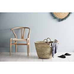 Olli Ella - Palm leaf market basket - Palm Leaf Basket Olli Ella - Palm leaf market basket - Palm Leaf Basket, storage, olli ella, littlebelleandbeau- littlebelleandbeau