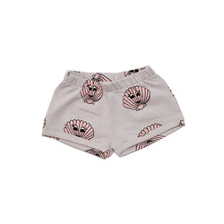 HUGO LOVES TIKI - Pink Seashells Shorts HUGO LOVES TIKI - Pink Seashells Shorts, apparel, Hugo loves tiki, littlebelleandbeau- littlebelleandbeau