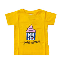 Hugo Loves Tiki - Yellow cupcake T Shirt Hugo Loves Tiki - Yellow cupcake T Shirt, apparel, Hugo loves tiki, littlebelleandbeau- littlebelleandbeau