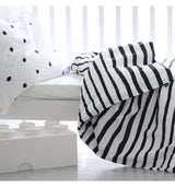 OOH NOO ZEBRA BABY / TODDLER DUVET COVER OOH NOO ZEBRA BABY / TODDLER DUVET COVER, bedding, Oohnoo Official, littlebelleandbeau- littlebelleandbeau