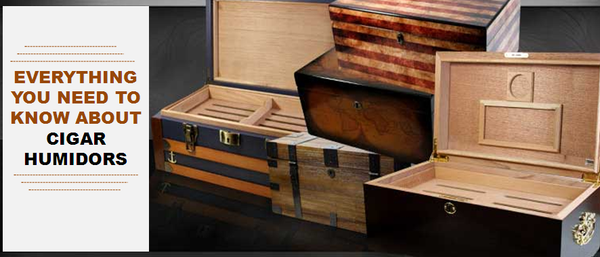 Everything you need to know about Cigar Humidors