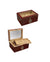 100 Ct. Humidor w/ Glass Top & External Digital Hygrometer