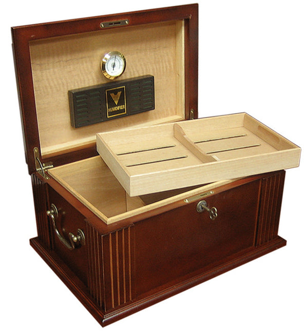 50 Count Antique Cigar Humidor