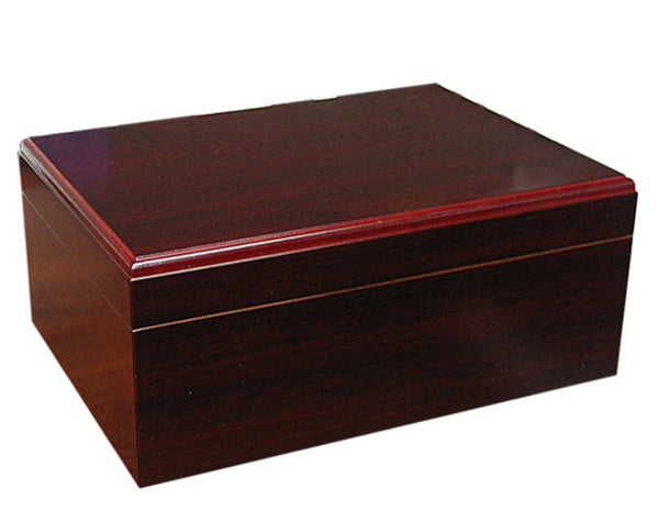 50-75 Count Cherry Cigar Humidor