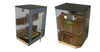 150 Ct. Acrylic Display Humidor 6 Bins w/ Hygrometer