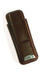 2 Cigar Leather Case w/ Cutter (Brown)