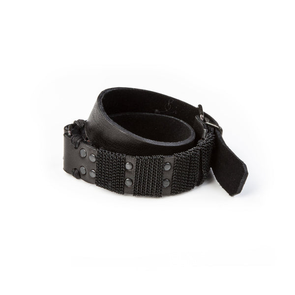 leather bracelet men The Violet Moon