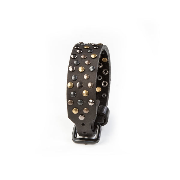 leather bracelet men The Enchanted Flower